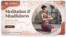 پروژه افترافکت تیزر تبلیغاتی یوگا Meditation Yoga Promo