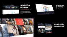 پروژه افترافکت تیزر تبلیغاتی مینیمال وبسایت Minimalistic Website Promo