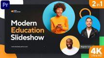 پروژه پریمیر اسلایدشو آموزشی مدرن Modern Education Slideshow