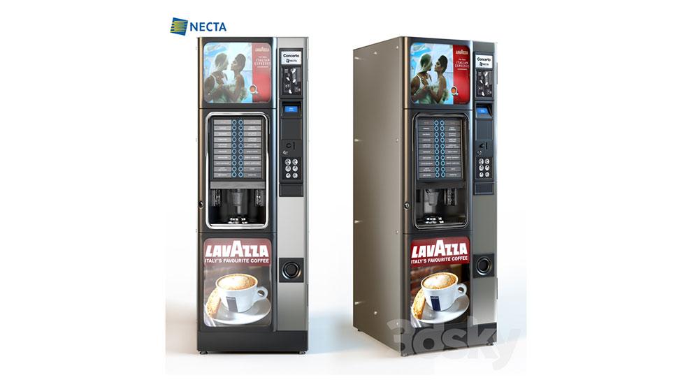 مدل سه بعدی ماشین قهوه ساز Necta Concerto