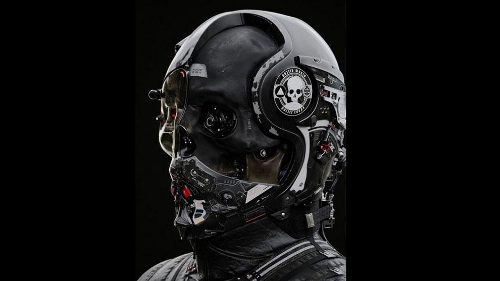 مدل سه بعدی ربات پلیس Neo Cop