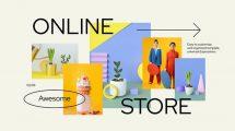 پروژه افترافکت تیزر تبلیغاتی فروشگاه آنلاین Online Shopping Store Promo
