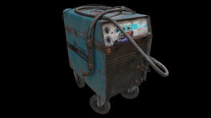 مدل سه بعدی دستگاه جوشکاری Optimig 450v Welding Machine