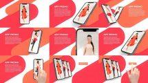 پروژه افترافکت تیزر تبلیغاتی اپلیکیشن موبایل Quick Mobile App Promo