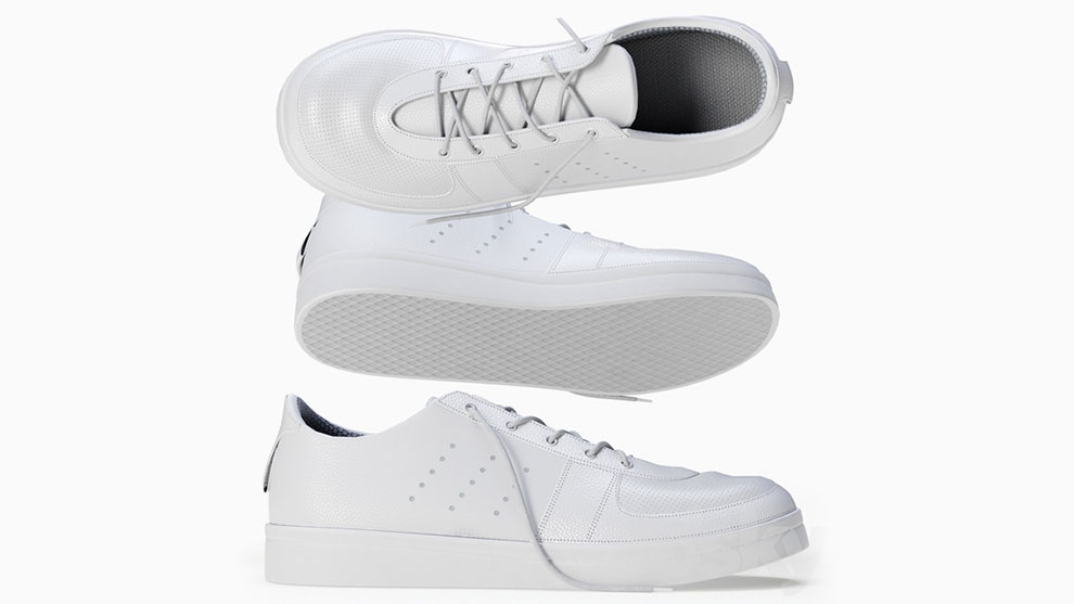 مدل سه بعدی کفش اسنیکرز کلاسیک Sneakers Classic