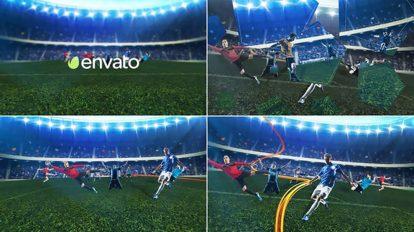 پروژه افترافکت اینترو فوتبالی Soccer Intro
