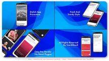 پروژه افترافکت تیزر تبلیغاتی اپلیکیشن Stylish App Promo