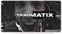 پروژه افترافکت اینترو گلیچ Traumatix Glitch Intro