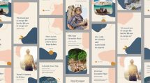 پروژه افترافکت مجموعه استوری اینستاگرام سفر Travel Instagram Stories