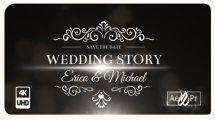 پروژه افترافکت عناوین متنی عروسی Wedding Titles