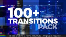 پروژه افترافکت مجموعه ترانزیشن Transitions
