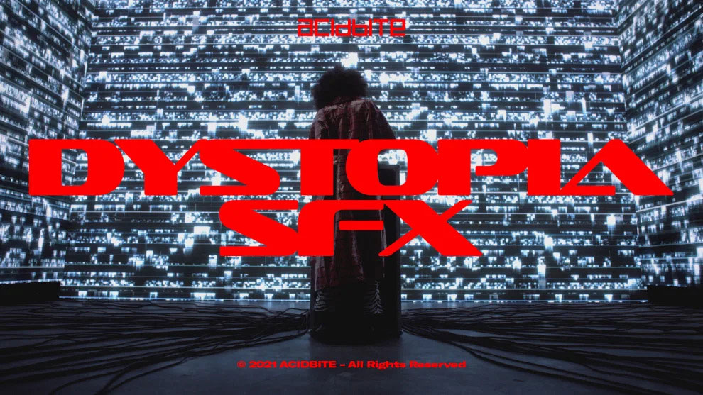 مجموعه افکت صوتی سینمایی AcidBite Dystopia SFX