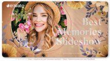 پروژه افترافکت اسلایدشو خاطرات رومانتیک Best Memories Romantic Slideshow