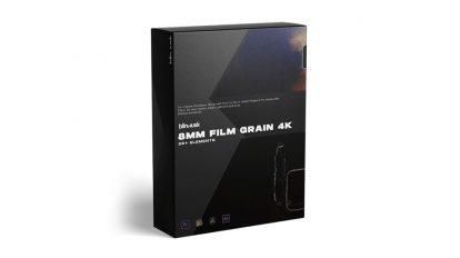 مجموعه فوتیج گرین فیلم 8mm Film Grain