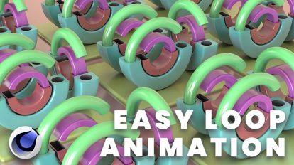 آموزش ساخت انیمیشن لوپ در سینمافوردی 3D Animation For Your Portfolio