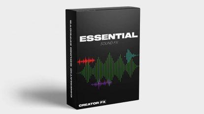 مجموعه افکت صوتی ضروری Creator FX Essential Sound FX