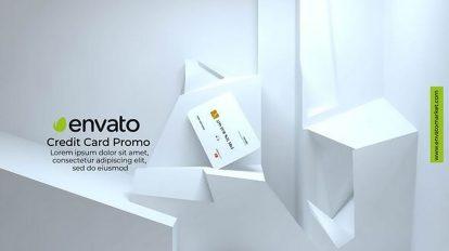 پروژه افترافکت موکاپ کارت ویزیت Credit Card Mockup