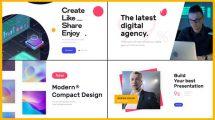 پروژه افترافکت شرکت خدمات دیجیتال Digital Media Agency