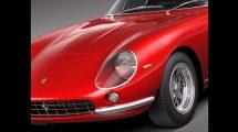 مدل سه بعدی خودرو فراری Ferrari 275 GTB