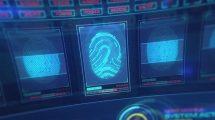پروژه پریمیر نمایش لوگو با تکنولوژی پیشرفته HUD Access Technology