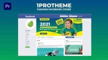 پروژه پریمیر کاور فیسبوک مدرسه کودکان Kids Facebook Cover