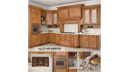 مدل سه بعدی آشپزخانه Kuchenberg Camilla