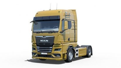 مدل سه بعدی ماشین سنگین Man TGX 2020