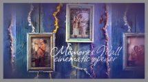 پروژه داوینچی نمایش عکس روی دیوار Memories Wall Cinematic Opener