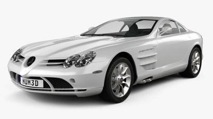 مدل سه بعدی خودرو مرسدس بنز Mercedes Benz SLR 2005