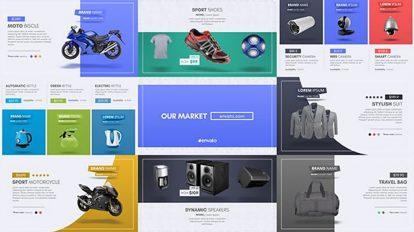 پروژه افترافکت تیزر تبلیغاتی محصولات Universal Product Promo