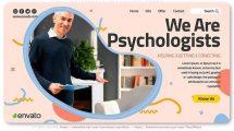 پروژه افترافکت تیزر تبلیغاتی مشاور روانشناسی Psychology Consultant Promo
