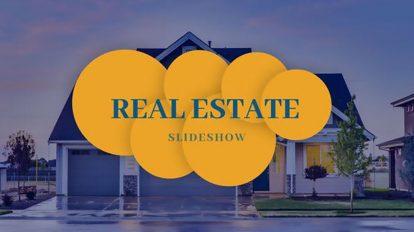 پروژه افترافکت اسلایدشو مشاور املاک Real Estate Slideshow