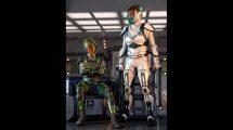 مدل سه بعدی لباس علمی تخیلی مرد Sci-Fi Guard Outfit for Genesis 8