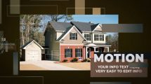 پروژه افترافکت اسلایدشو مشاور املاک Shades Real Estate Slideshow