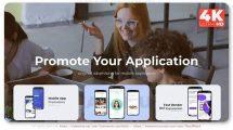 پروژه افترافکت تیزر تبلیغاتی اپلیکیشن Simple 3D App Promo