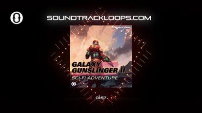مجموعه افکت صوتی علمی تخیلی Galaxy Gunslinger ii