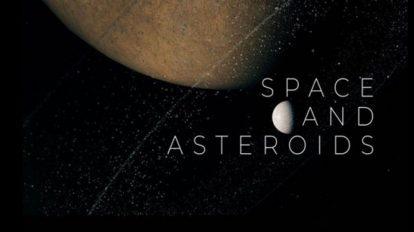 پروژه افترافکت نمایش عناوین سینمایی Space and Asteroids
