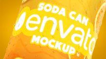 پروژه افترافکت تیزر تبلیغاتی قوطی نوشابه 3D Summer Drink Soda Commercial