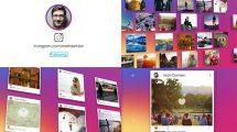 پروژه افترافکت تیزر تبلیغاتی اینستاگرام The Instagram Promotion