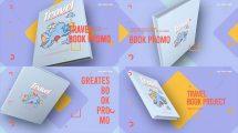 پروژه افترافکت تیزر تبلیغاتی کتاب گردشگری Travel Book Promo