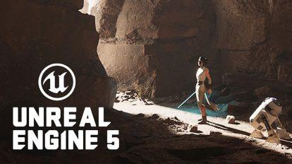 آموزش طراحی محیط در آنریل انجین Unreal Engine 5 Environment Design