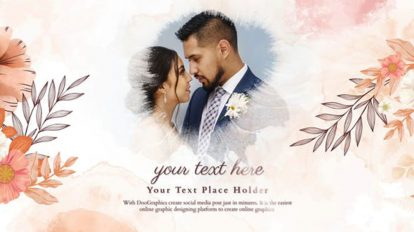 پروژه افترافکت اسلایدشو عروسی Wedding Slideshow