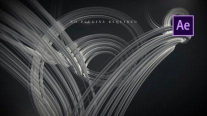 پروژه افترافکت نمایش عناوین سینمایی Abstract Cinematic Titles