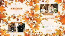 پروژه افترافکت اسلایدشو خاطرات پاییزی Autumn Memories Slideshow