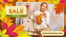 پروژه افترافکت تیزر تبلیغاتی فروش ویژه پاییز Autumn Season Sale Promo