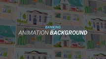 پروژه افترافکت مجموعه زمینه متحرک بانک Banking Animation Background