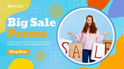 پروژه پریمیر تیزر تبلیغاتی فروش ویژه Colorful Sale Promo