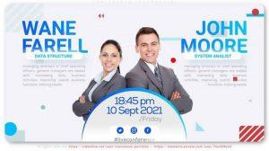 پروژه افترافکت تیزر تبلیغاتی کنفرانس Conference Infomercial