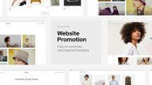 پروژه افترافکت تیزر تبلیغاتی وبسایت شرکت Corporate Website Promo