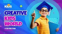پروژه افترافکت اینترو مدرسه Creative Kids School Intro